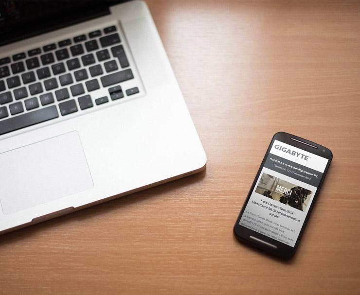 GIGABYTE | E-mailing B2C