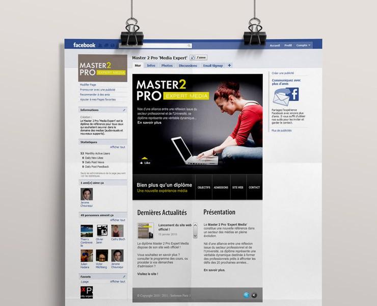 MASTER 2 PRO | Event Facebook <span>Facebook</span>