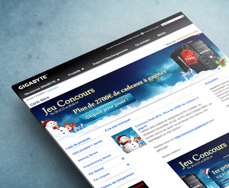GIGABYTE | Site Web