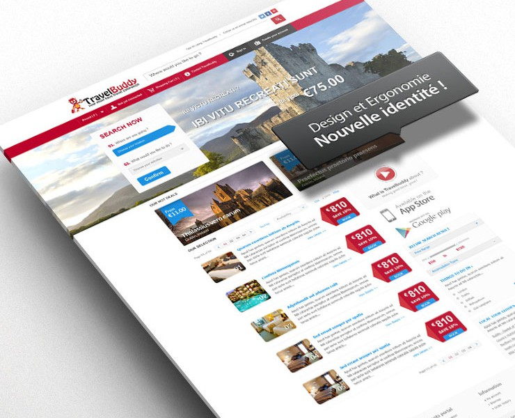 TRAVELBUDDY | Site Web <span>Site Web Corporate</span>