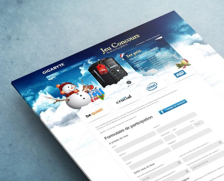 GIGABYTE | Site Web <span>Site Web Evénementiel</span>