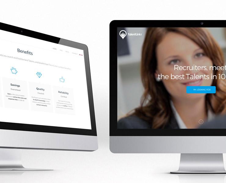 TalentLinkr | Landing Page