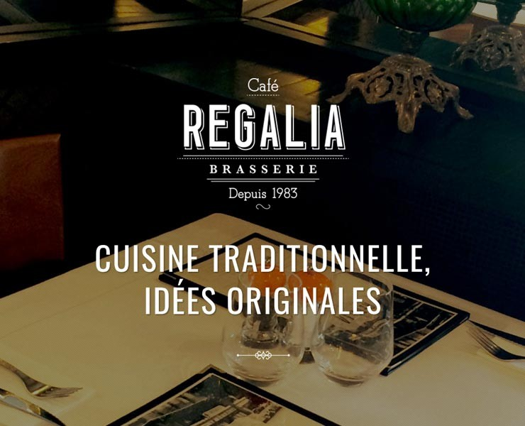 Cafe Regalia | Site Internet <span>Landing Page</span>